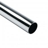 GD 1224 Труба хромированная, для ограждения от тележек D=40мм