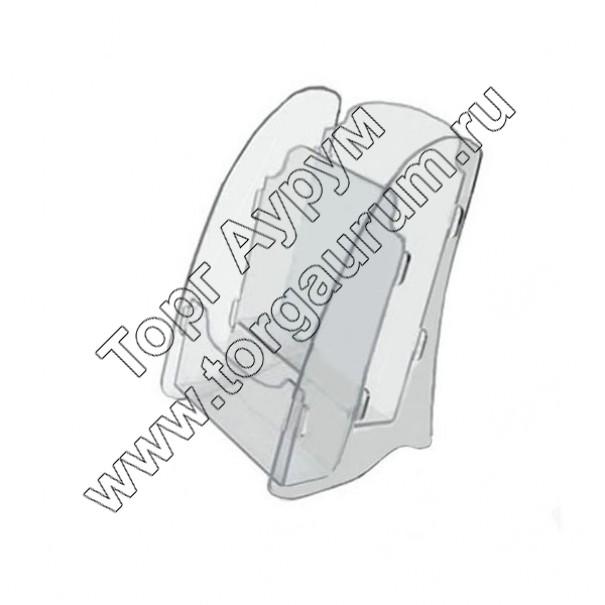 OL-162А4/2 Подставка для буклетов формата А-4, 2-х ярусная