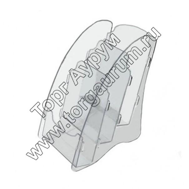 OL-162А4/3 Подставка для буклетов формата А-4, 3-х ярусная