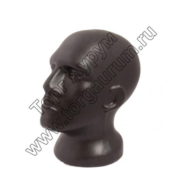 Г-202b Голова мужская. Цвет: Чёрный