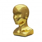 Г-299/G Голова женская с плечами. Цвет: Золото