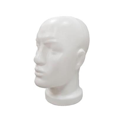 Г-202w Голова мужская. Цвет: Белый
