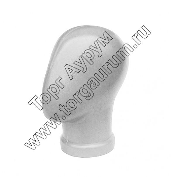 Г-203w Голова безликая. Цвет: Белый