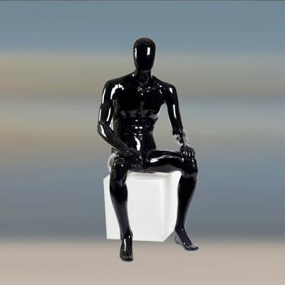 GL-10 Манекен мужской, безликий (сидячий)