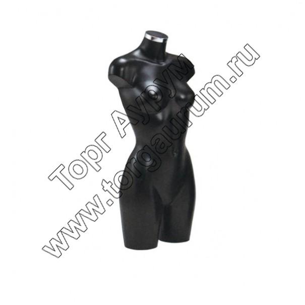 BU-9450 Торс женский, удлинённый. Цвет: Чёрный