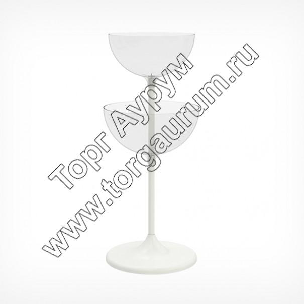 UNIBOWL-TOWER Дисплей две-чаша на стойке
