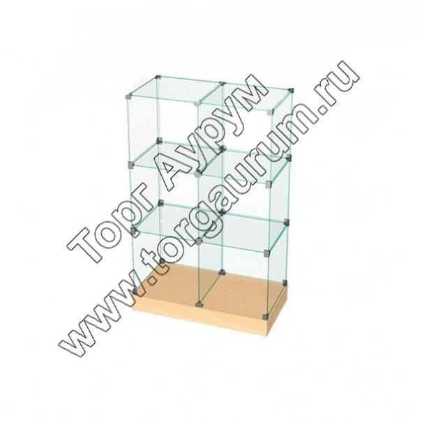 ВК.П-02 Витрина куб с подиумом