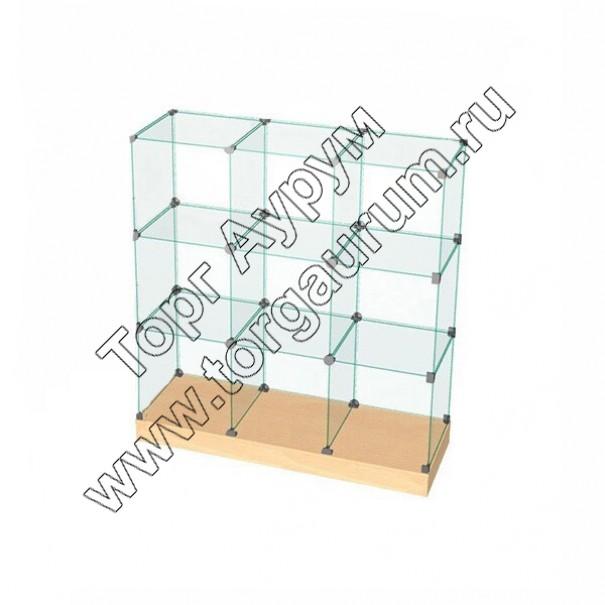 ВК.П-03 Витрина куб с подиумом