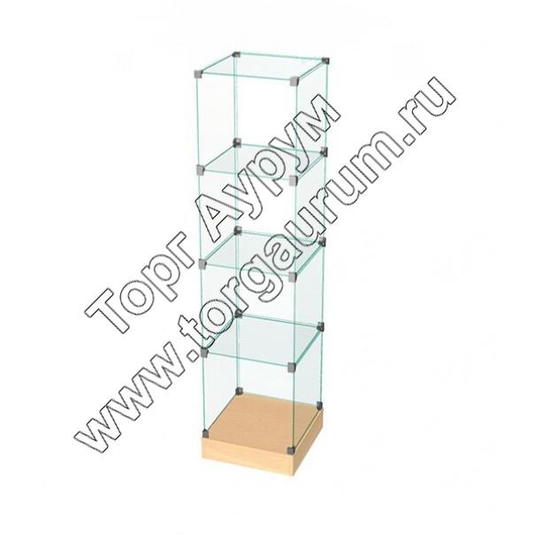 ВК.П-05 Витрина куб с подиумом