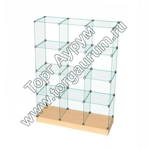 ВК.П-07 Витрина куб с подиумом