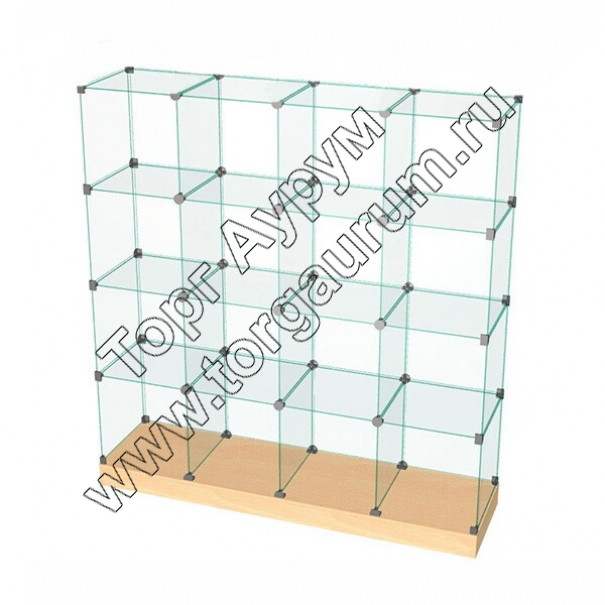 ВК.П-08 Витрина куб с подиумом