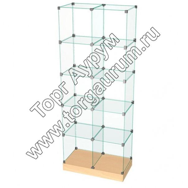 ВК.П-10 Витрина куб с подиумом