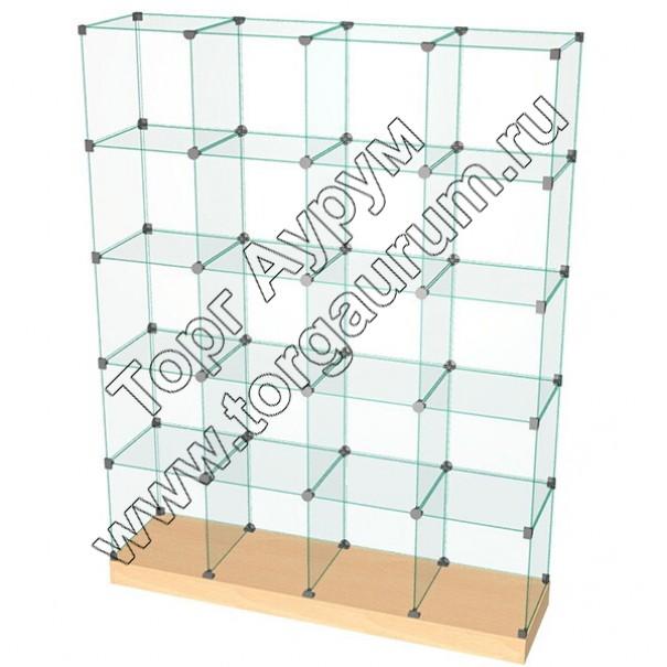 ВК.П-12 Витрина куб с подиумом