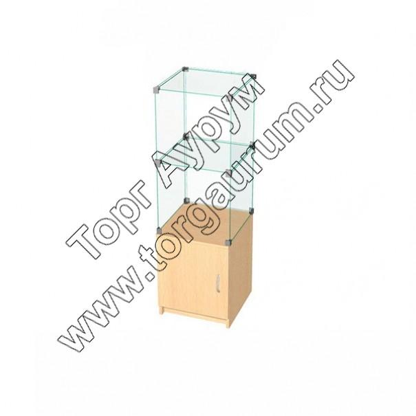ВК.Т-01 Витрина куб с тумбой