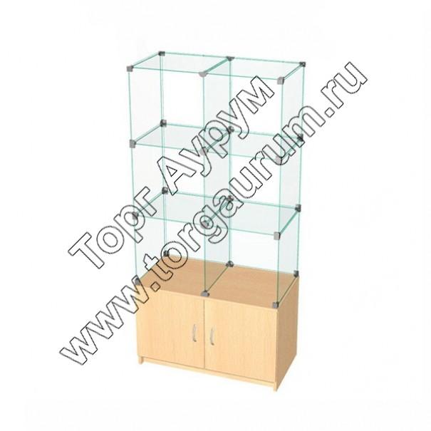 ВК.Т-06 Витрина куб с тумбой
