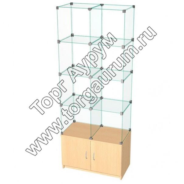 ВК.Т-10 Витрина куб с тумбой