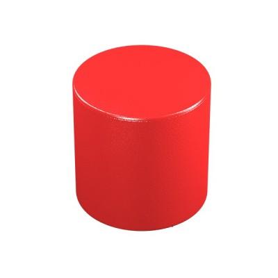 """ПФ-03 Банкетка """"Цилиндр"""" Цвет: Красный"""