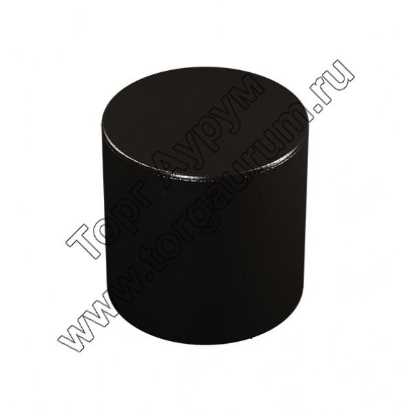 """ПФ-03 Банкетка """"Цилиндр"""" Цвет: Чёрный"""