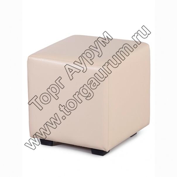 """ПФ-01 Банкетка """"Куб"""" Цвет: Бежевый"""