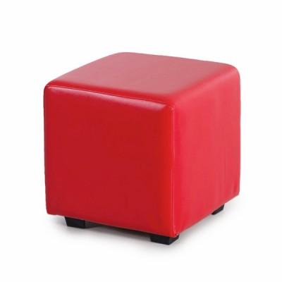 """ПФ-01 Банкетка """"Куб"""" Цвет: Красный"""