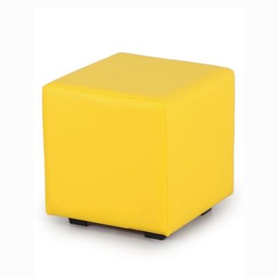 "ПФ-01 Банкетка ""Куб"" Цвет: Жёлтый"