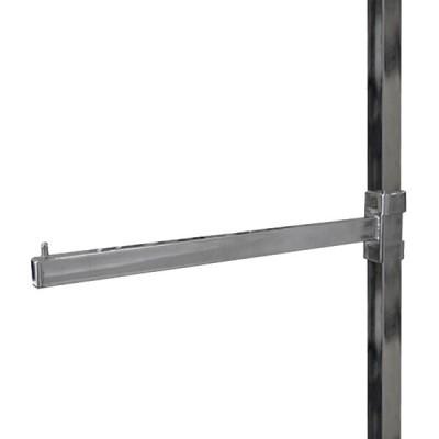 PR-485 Кронштейн прямой на вертикальную трубу 25*25мм